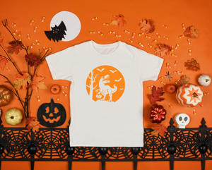 Kids - Trick or Treat Dino Halloween Shirt