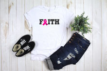 Load image into Gallery viewer, Faith- Breast Cancer Awareness Shirt