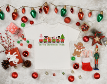Load image into Gallery viewer, On the Christmas Train Shirt