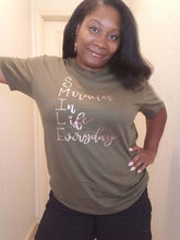 Load image into Gallery viewer, S.M.I.L.E. Shirt - Green - Simply Made by Shay