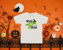 Load image into Gallery viewer, Kids - Trick RAWR Treat Halloween Shirt