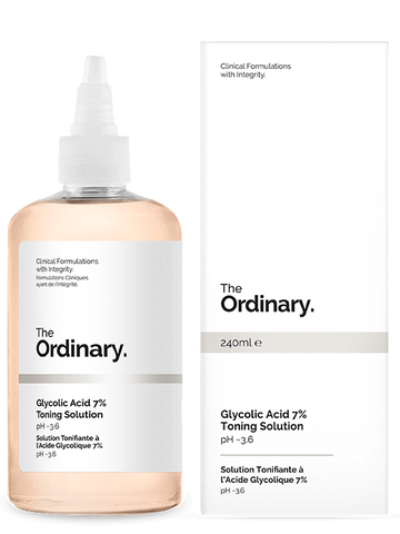 * * The Ordinary Glycolic Acid 7% Toning Solution