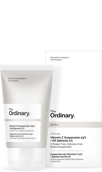 *  * The Ordinary Vitamin C Suspension 23% + HA Spheres 2%