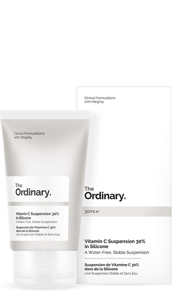 *  * The Ordinary Vitamin C 30% in Silicone