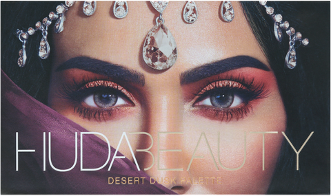 * . Huda Beauty Desert Dusk Eyeshadow Palette