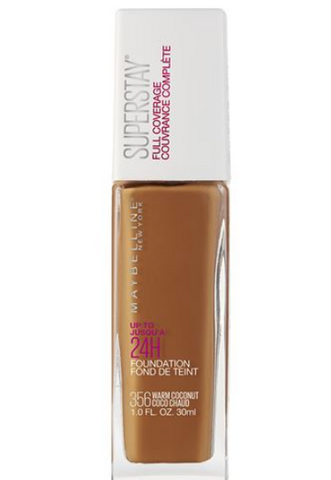 # * Maybelline Super Stay® Full Coverage Foundation