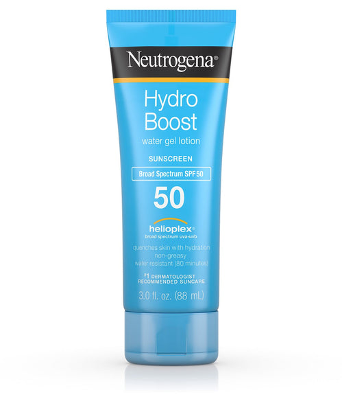 Neutrogena Hydroboost Non-Greasy Sunscreen Lotion, SPF 50
