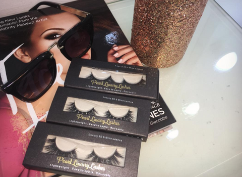 * Pearl Luxury 3D Mink Lashes