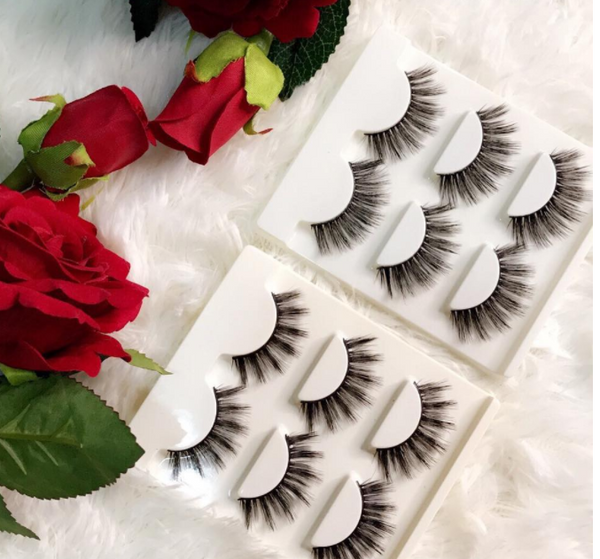 * Pearl Luxury Mink Lashes (3 in 1 Pack)