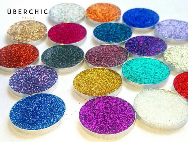* ÜberChic Ville Pressed Glitter Eyeshadows