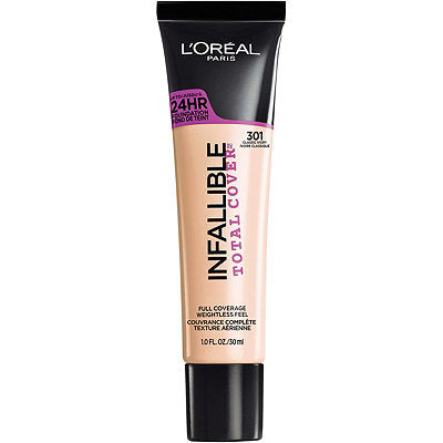 L'Oreal Infallible® Total Cover Full Coverage Foundation