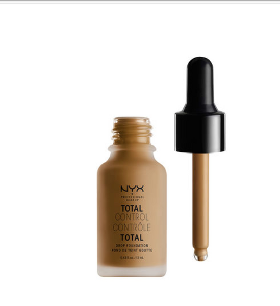* NYX Total Control Drop Foundation - 17 - Cappuccino