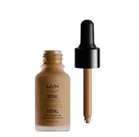 NYX Total Control Drop Foundation - 18 - Deep Sable