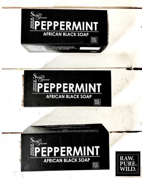 # Skin Gourmet Peppermint Black Bar Soap