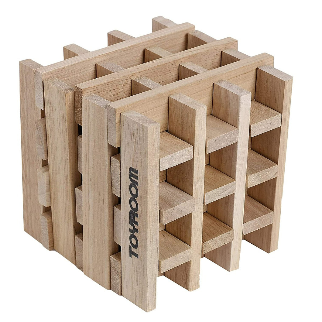 Wooden  Planks / Building Bricks (50 Pieces)