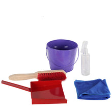 Load image into Gallery viewer, Little Helpers Squeaky Clean- Real Cleaning Kit (Wooden & Metal)