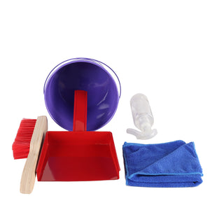 Little Helpers Squeaky Clean- Real Cleaning Kit (Wooden & Metal)