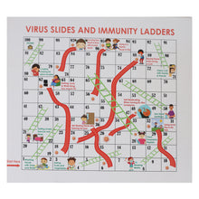 Load image into Gallery viewer, Pandemic Board Game - Virus SLides & Immunity Ladders