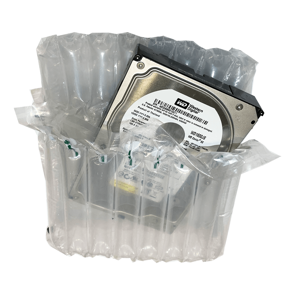 Air Packaging - Hard Drive Inflatable Packaging - Pack Of 25