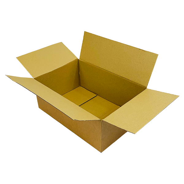 Single Wall Cardboard Boxes - 457mm x 305mm x 178mm
