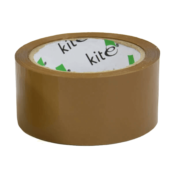 Rolls Of Brown Packaging Parcel Tape - 48mm x 66m