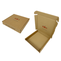 Personalised Brown PiP Small Parcel Postal Box - 240mm x 240mm x 40mm
