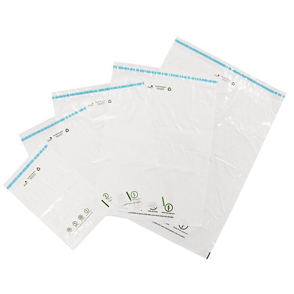 White Eco Mailing Bags - 400mm x 500mm - Pack Of 200