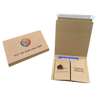 Personalised Book Wrap Mailers - 410mm x 320mm x 100mm