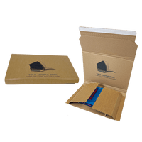 Personalised Book Wrap Mailers - 248mm x 165mm x 70mm