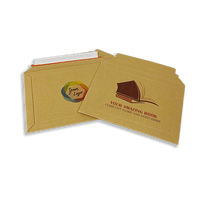 Personalised Capacity Book Mailers - Gusseted Solid Board - 278mm x 400mm