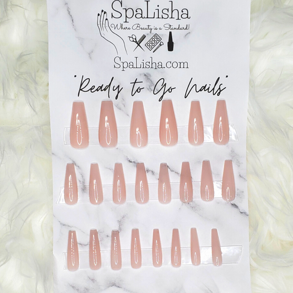 "SpaLisha's ""Ready to go Nails"""