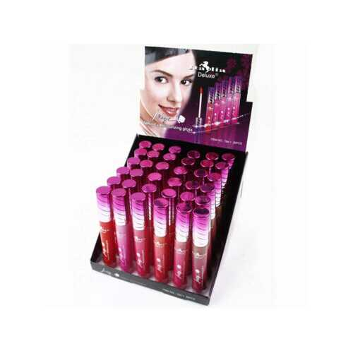 Italia Deluxe Jelly Lipgloss Assorted Colors in Display ( Case of 36 )