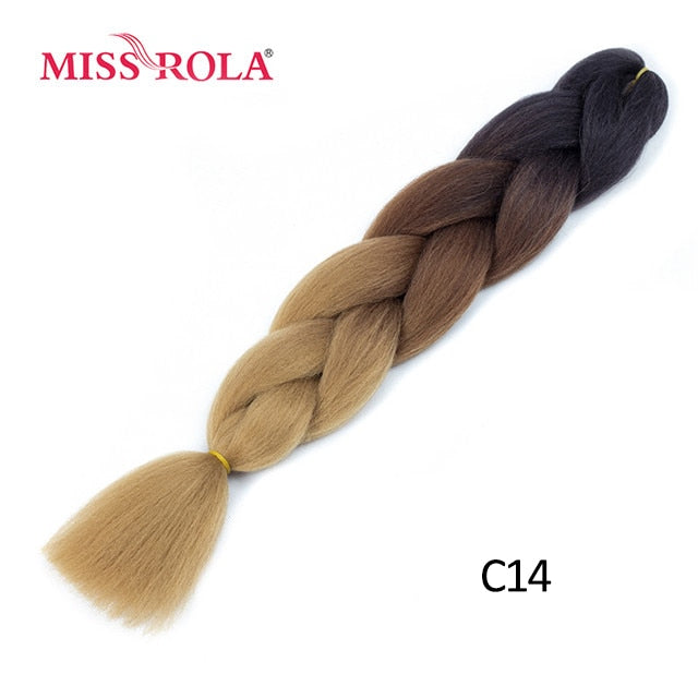 A19  24 Inch Miss Rola Synthetic Hair Extensions