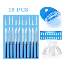 12 pcs kit Dental Peroxide Teeth Whitening Kit Tooth Bleaching Gel Kits Dental Brightening Dental Equipment Oral Hygiene Smile Products