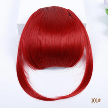 4Color  HOUYAN HAIR 6inch  Clip In Hair Bangs Hairpiece Accessories Synthetic Fake Bangs Hair Piece Clip In Hair Extensions
