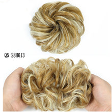 Brown Gray MERISIHAIR Girls Curly Scrunchie Chignon With Rubber Band  Synthetic Hair Ring Wrap On Messy Bun Ponytails