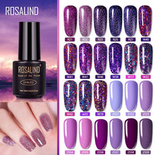 3 ROSALIND Gel Nail Polish Nail Art Vernis Semi Permanant UV Primer Manicure 7ML Top Coat Primer Gel Lak Hybrid Nail Polishes