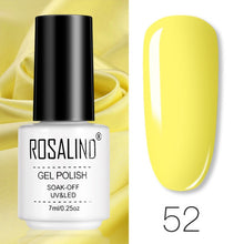 Color28 ROSALIND Gel Polish Set All For Manicure Semi Permanent Vernis top coat UV LED Gel Varnish Soak Off Nail Art Gel Nail Polish