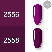 Color2451 ROSALIND Gel Polish Set UV Vernis Semi Permanent Primer Top Coat 7ML Poly Gel Varnish Nail Art Manicure Gel Lak PolishesNails