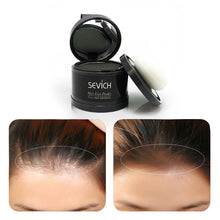 Black Water Proof hair line powder in hair color Edge control Hair Line Shadow Makeup Hair Concealer Root Cover Up Unisex Instantly