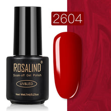 14 ROSALIND Gel Nail Polish Nail Art Vernis Semi Permanant UV Primer Manicure 7ML Top Coat Primer Gel Lak Hybrid Nail Polishes