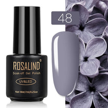 49 ROSALIND Gel Nail Polish Nail Art Vernis Semi Permanant UV Primer Manicure 7ML Top Coat Primer Gel Lak Hybrid Nail Polishes