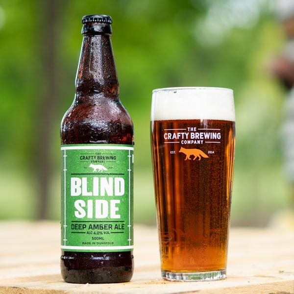 Crafty Brewing Blindside Amber Ale 12 X 500Ml Bottles - Taurus Wines