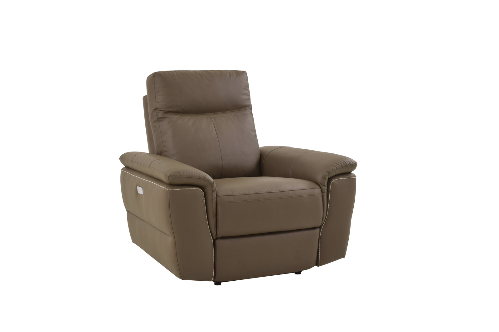 Java 5PC Leather Power Recliner