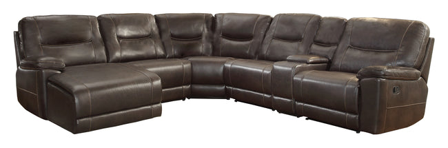 Bruno Reclining Sectional With Chaise