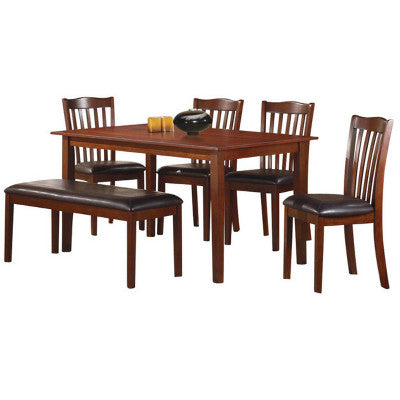 Mission 6 Piece Dining Set