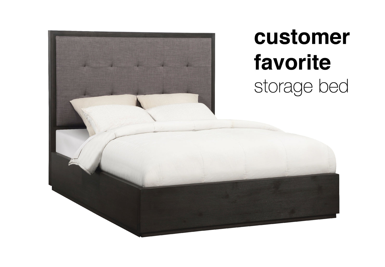 London Collection - Storage Bed
