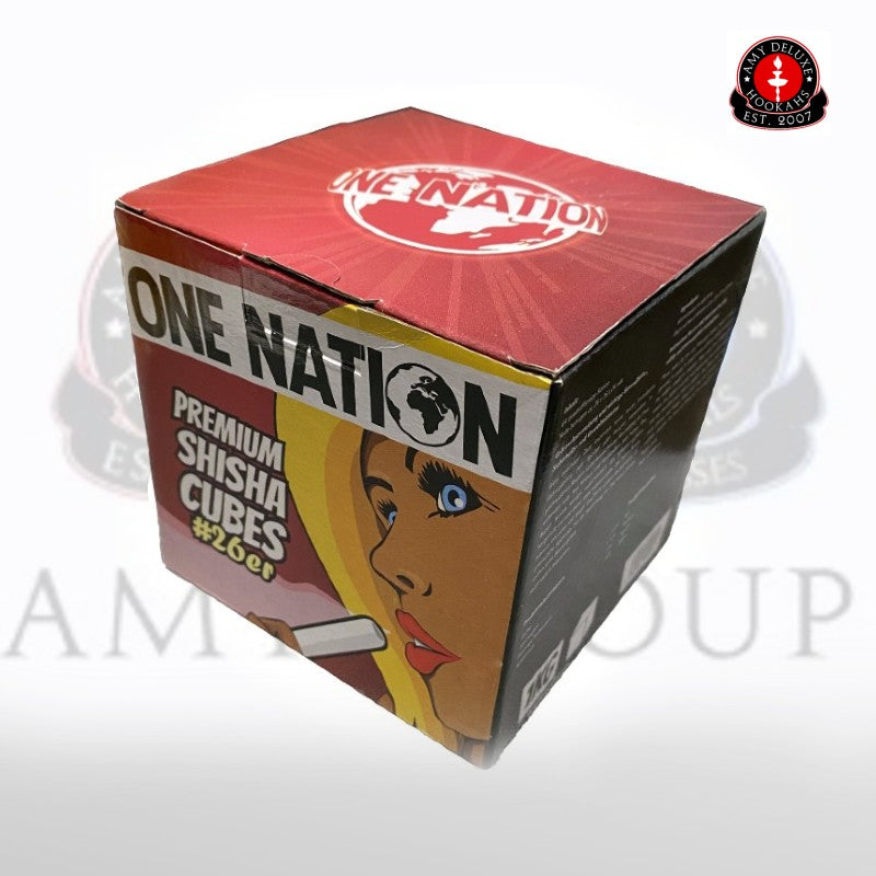 One Nation - Premium Shisha Cubes #26 1KG
