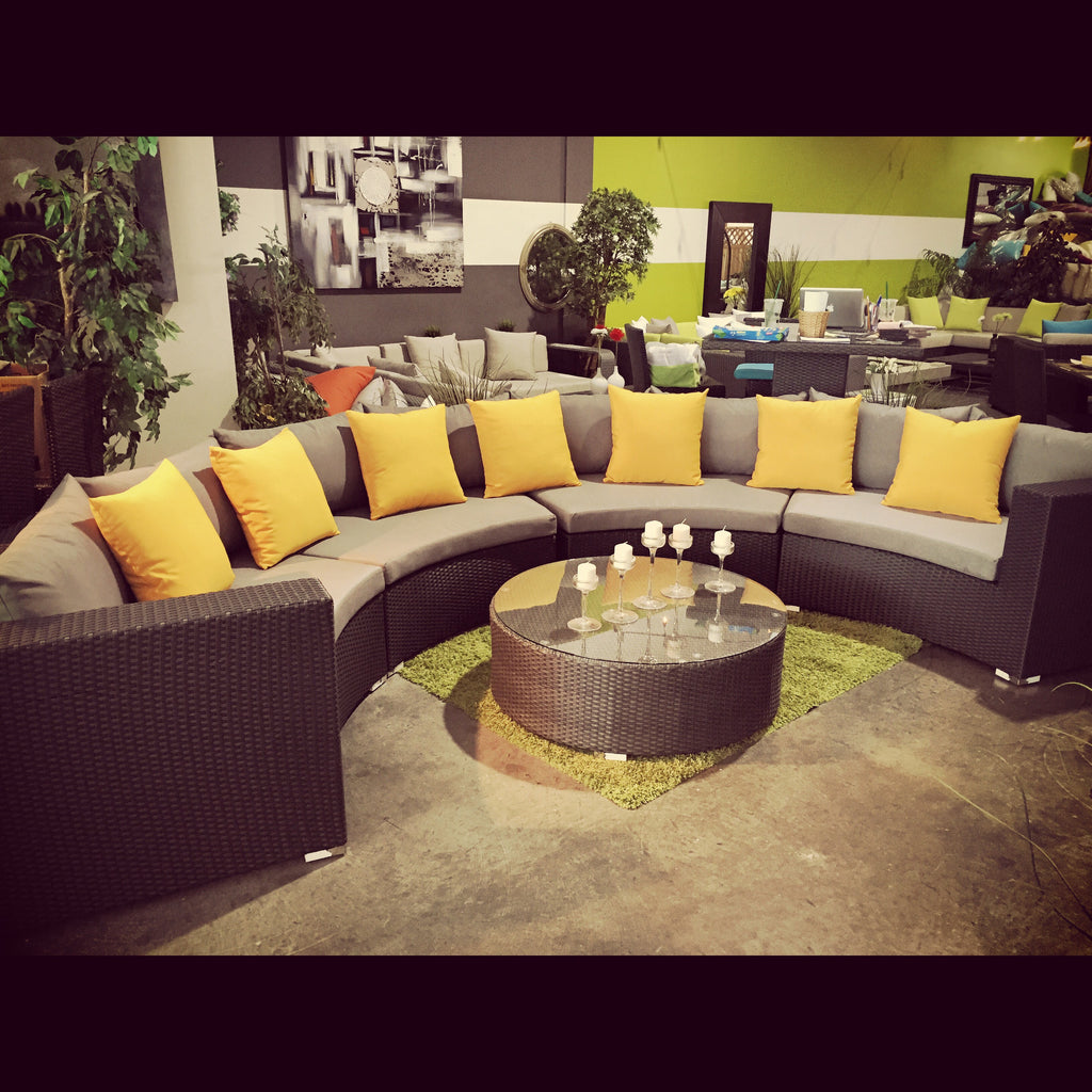 The Tahiti - Curvy Sectional