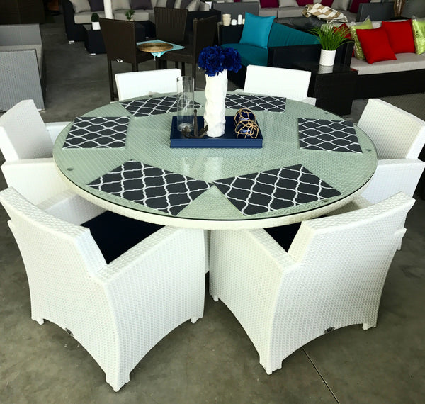 The Calabria Circle Dining Table